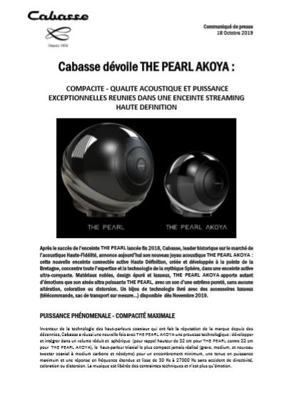 Cabasse CP Akoya